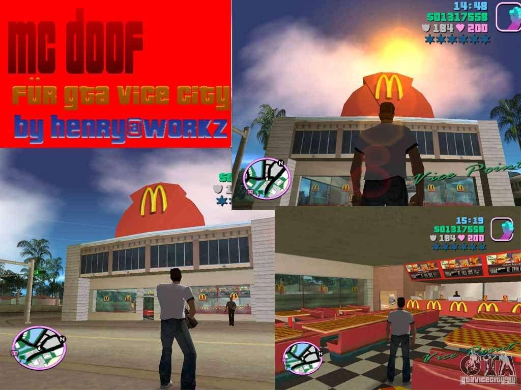 McDonalds for GTA Vice City