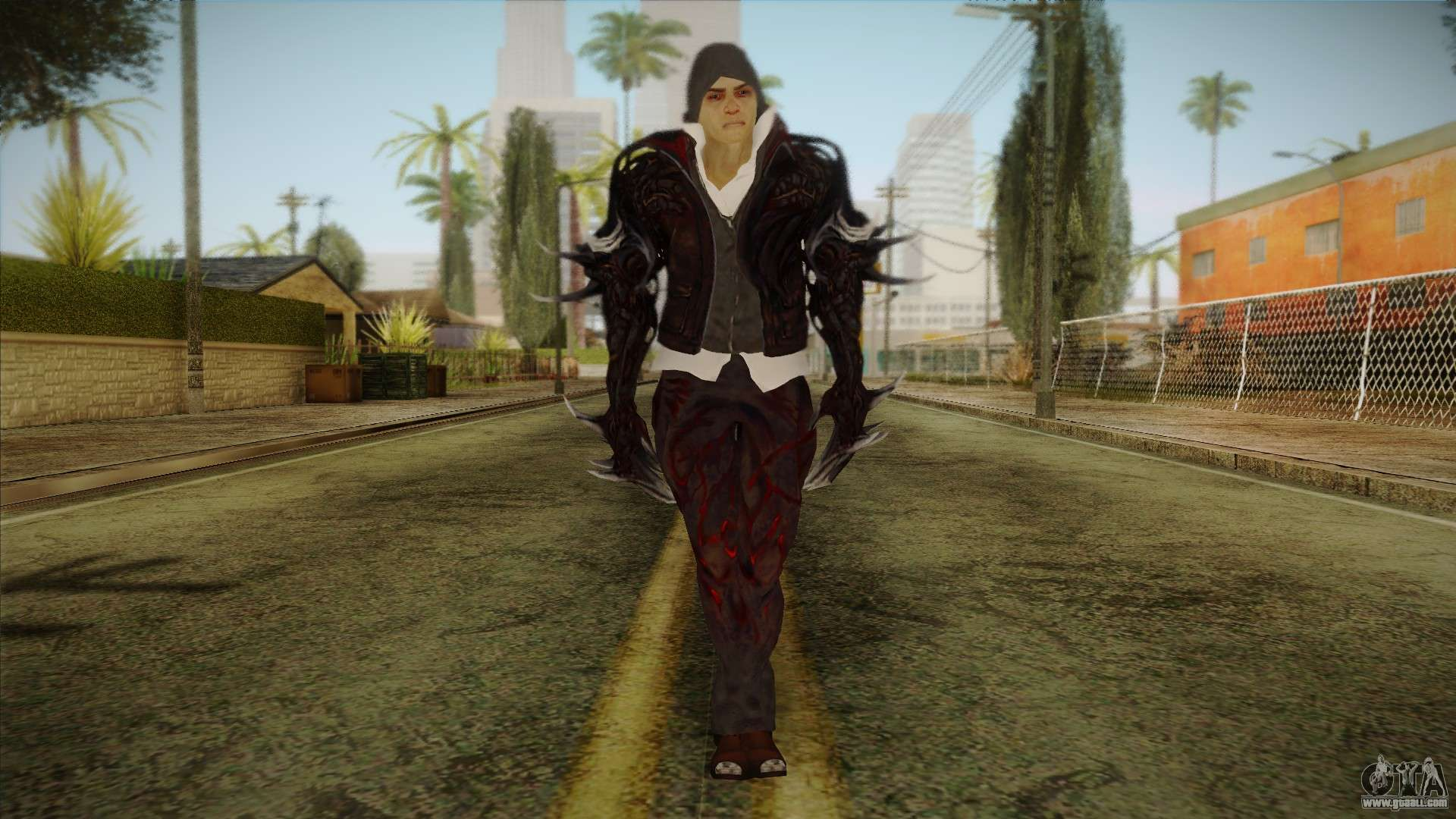 Alex Boss From Prototype 2 For GTA San Andreas