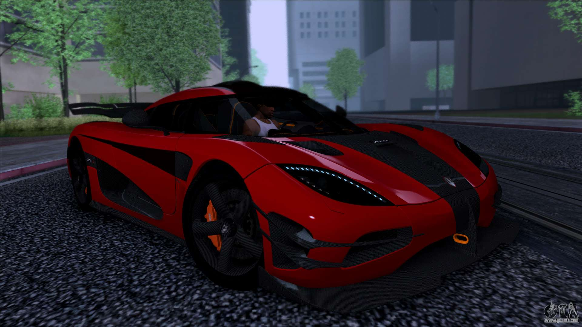 Koenigsegg One1 2014 for GTA San Andreas