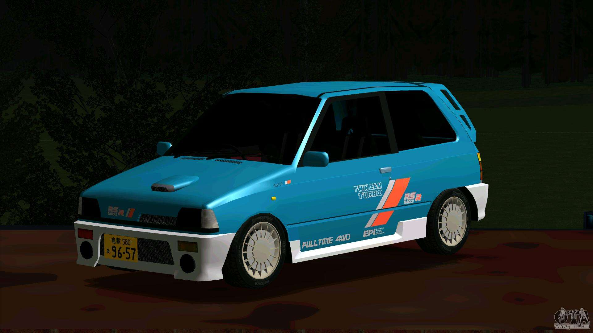 hight resolution of suzuki alto works rs r for gta san andreas