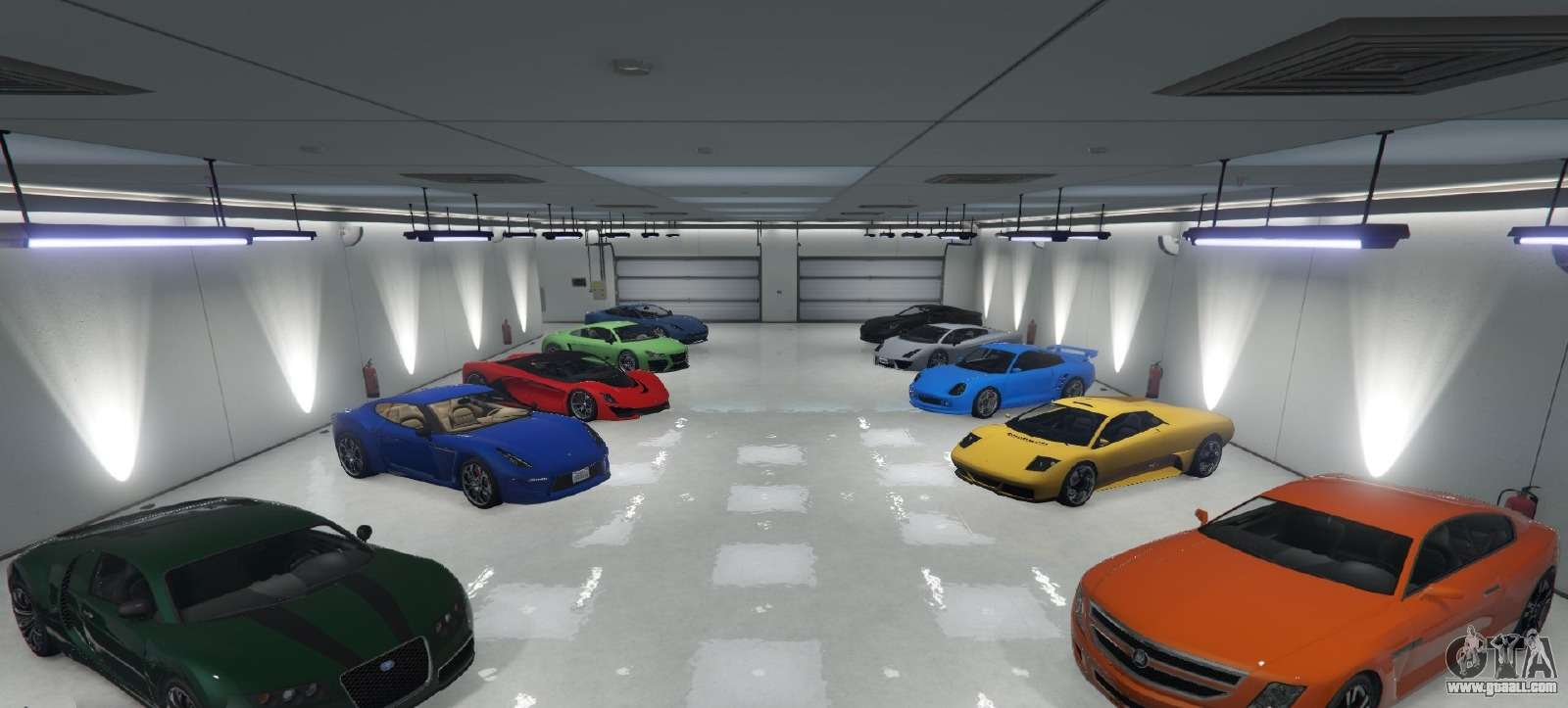 Single Player Garage For Gta 5