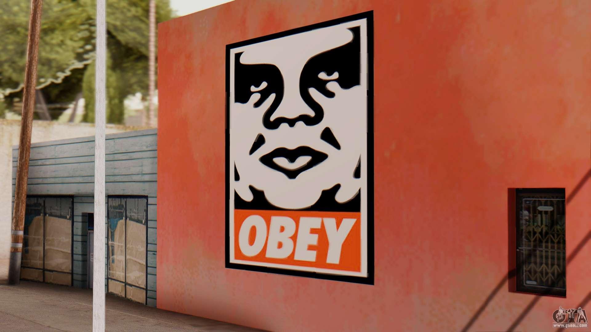Fast Cars Wallpaper 2015 Obey Graffiti For Gta San Andreas