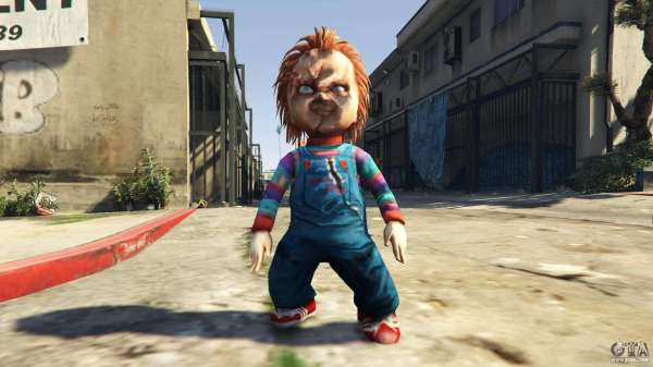 Chucky Gta 3 - Year of Clean Water