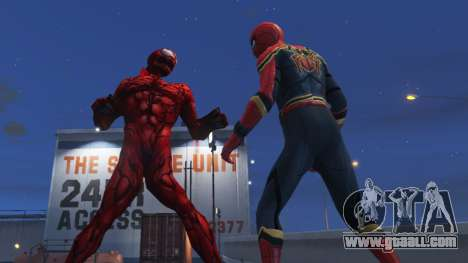 Carnage (Marvel Future Fight) [ADD-ON] 2.0 for GTA 5