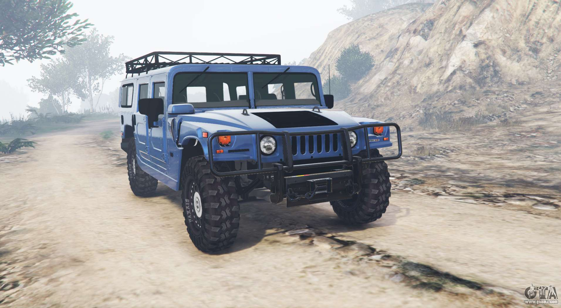 Hummer H1 Alpha Wagon v21 replace for GTA 5