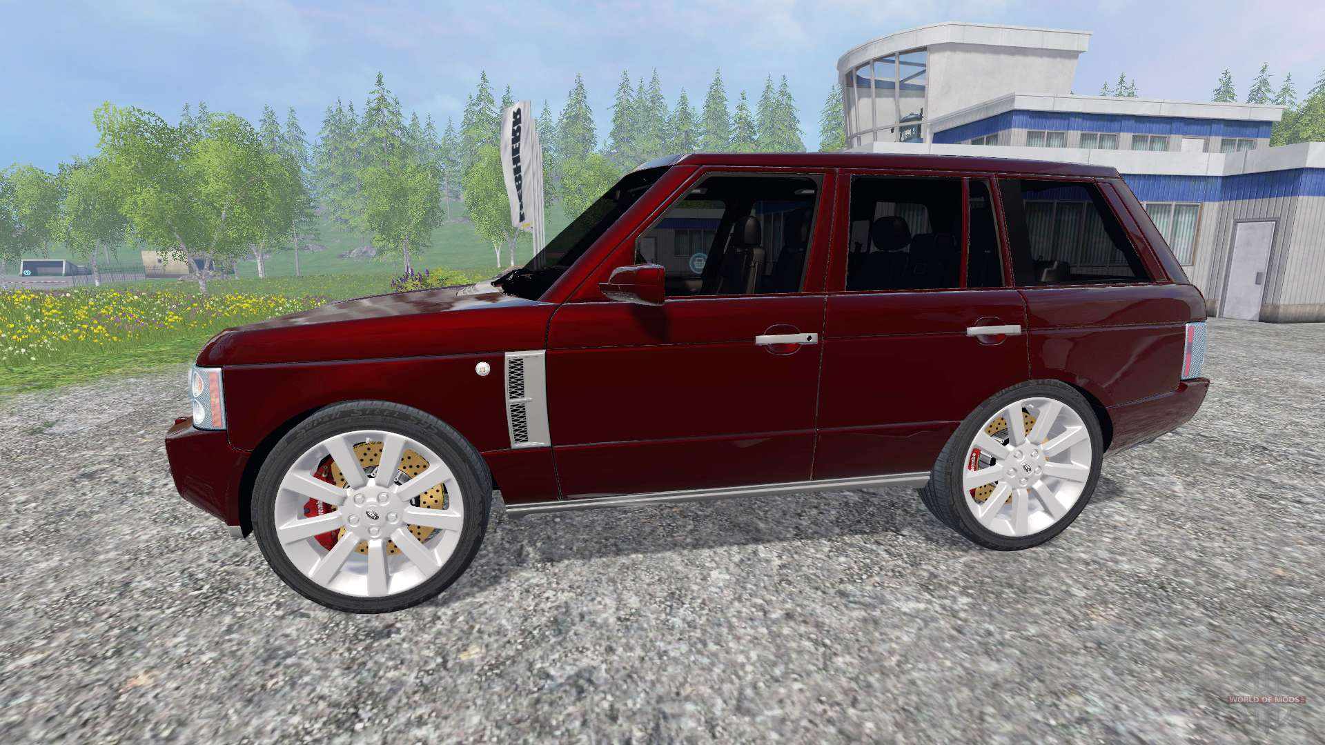 Rover Supercharged 4WD for Farming Simulator 2015
