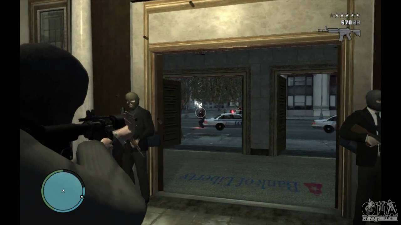 Bank And Museum Robbery For Gta 4
