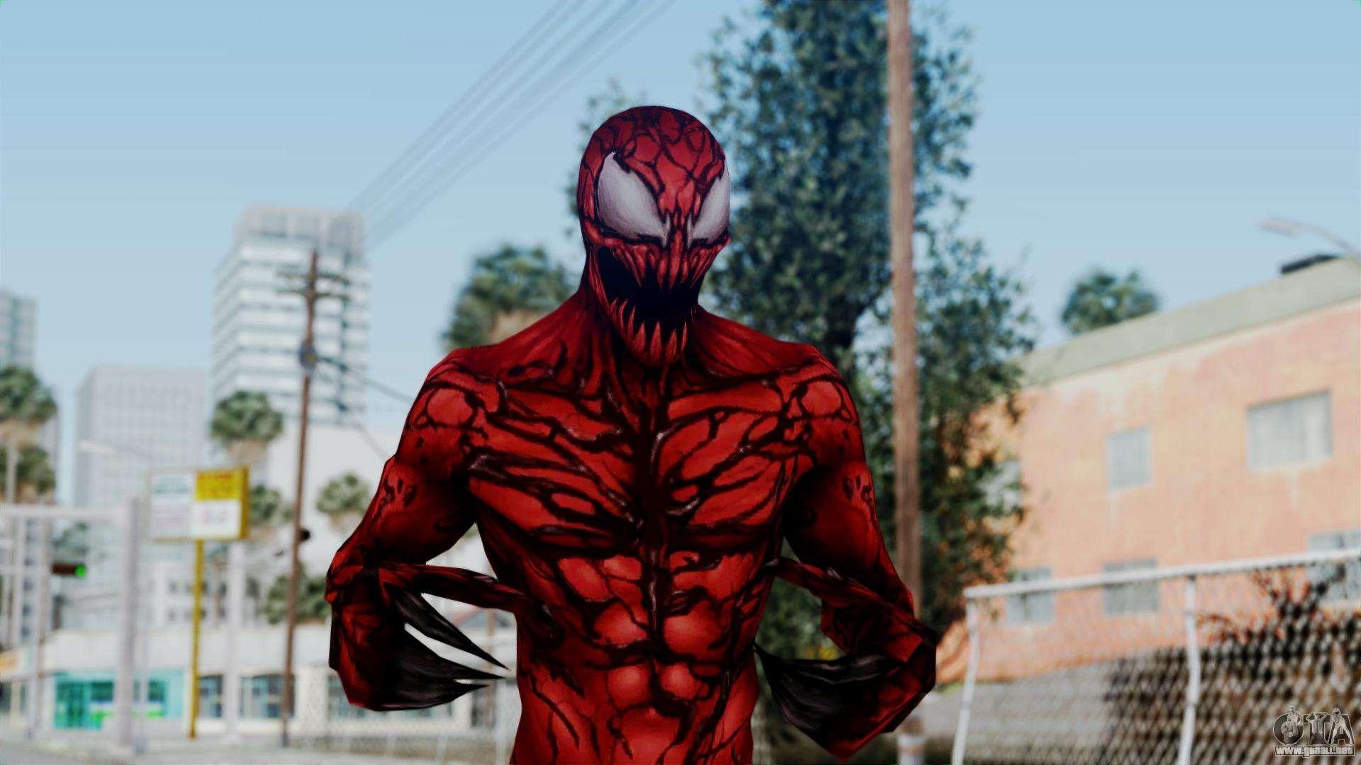 Marvel Future Fight - Carnage para GTA San Andreas