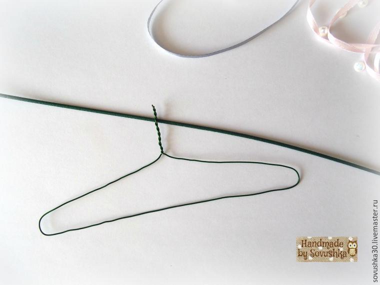 Facciamo un aiuto per appendiabiti per vestiti da burattino a Shebbi Schik, foto № 6