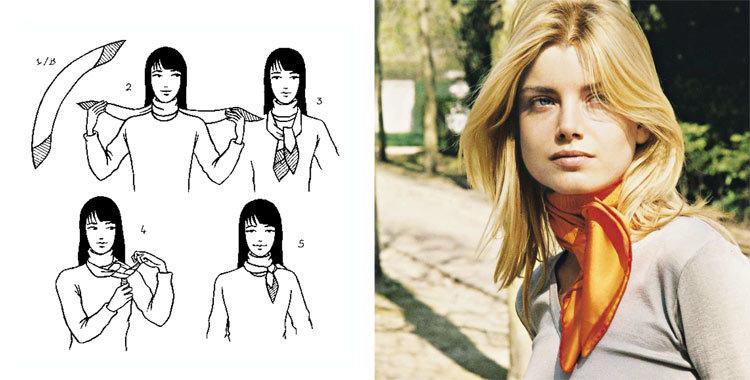 28 가지 방법으로 아름답게 묶는 스카프, 사진 № 12