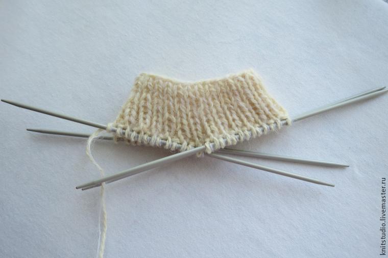 Neuloiset villa-sukat 5 pinnasta, kuva № 4