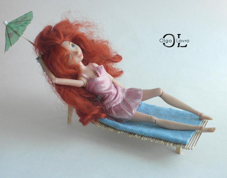 Делаем красивый дом и мебель для кукол Барби, фото № 46