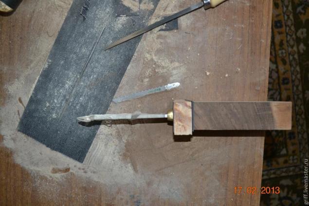 Come fare una maniglia del coltello, foto № 9