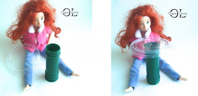 Делаем красивый дом и мебель для кукол Барби, фото № 41