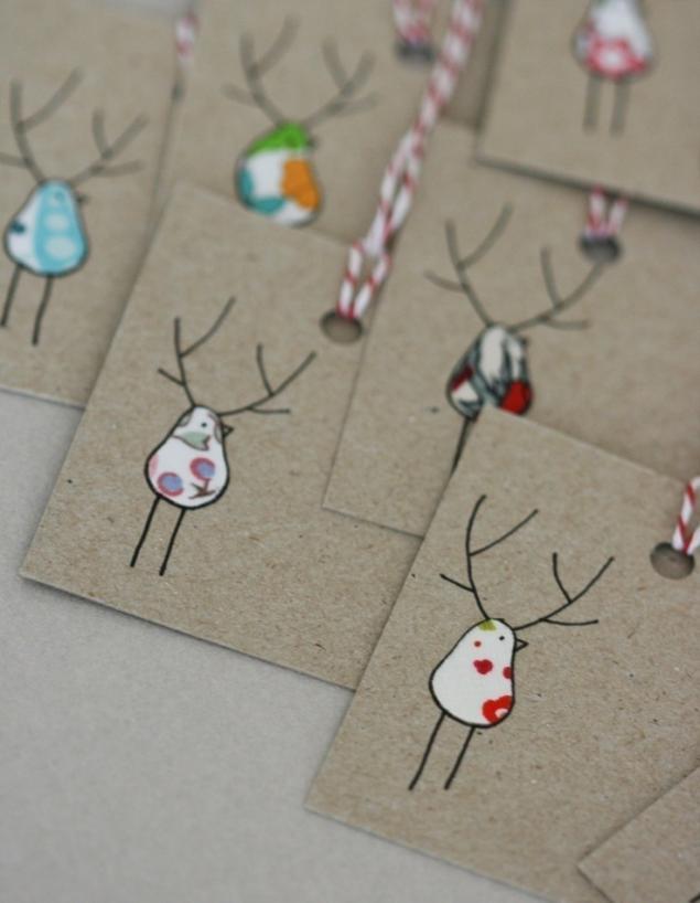 最终的条形码用于新年礼物的设计,或标签播放的角色,照片№9