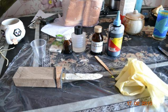 Come fare una maniglia del coltello, foto № 10