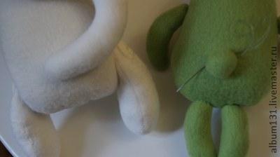 Machen Sie lustige Spielsachen aus Fleece, Foto № 14