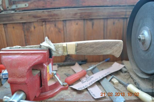 Como fazer uma alça de faca, foto № 16