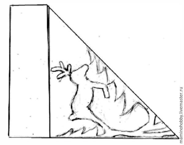 Balet di tingkap, atau memotong salji yang menarik, foto № 20