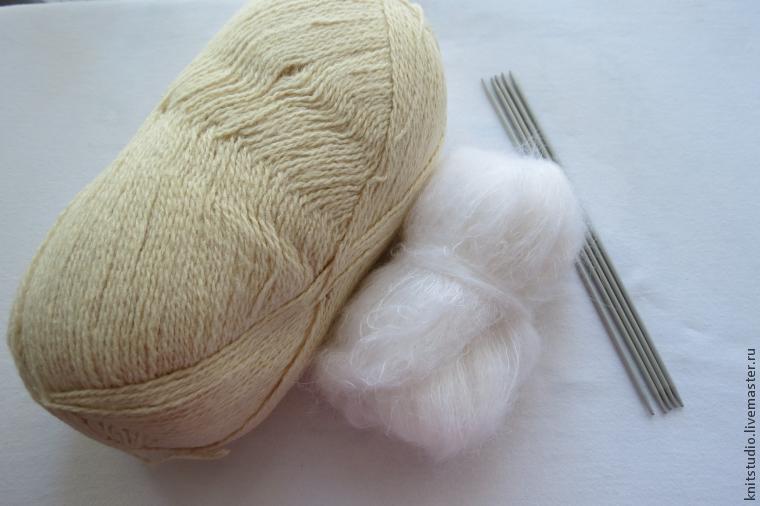 Strikk woolen sokker på 5 strikking, foto № 1
