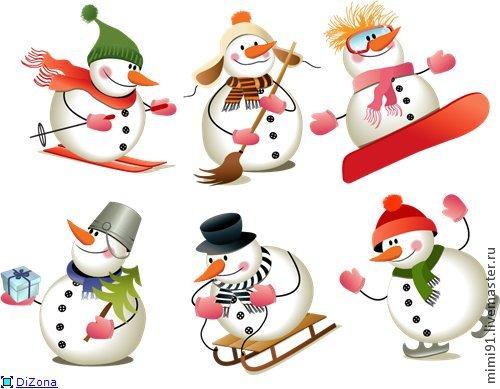 Master Class Snowman ในเทคนิค Cotton Papier-Mâchéภาพถ่าย№ 1