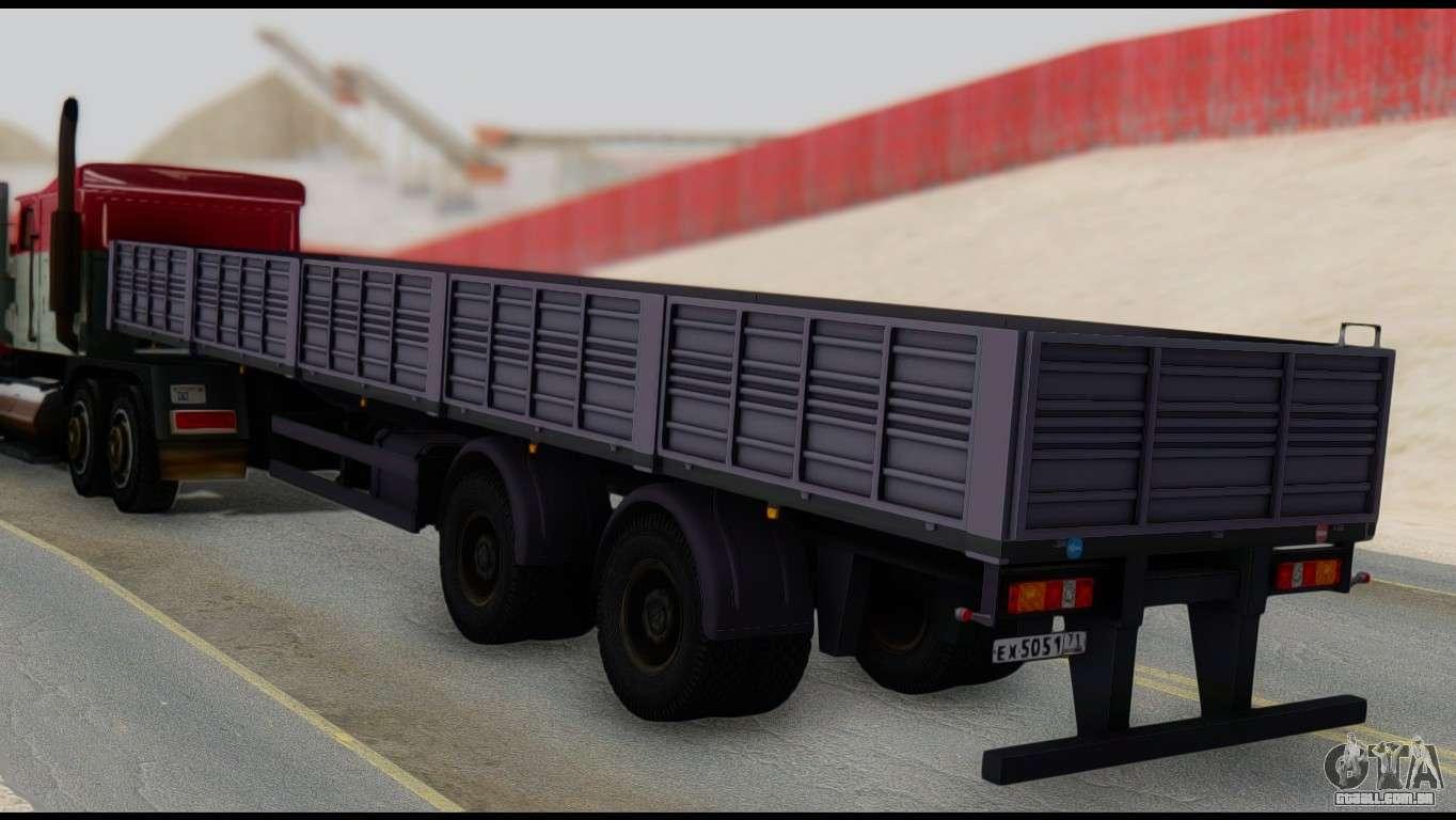 Semireboque MAZ 93866 para GTA San Andreas