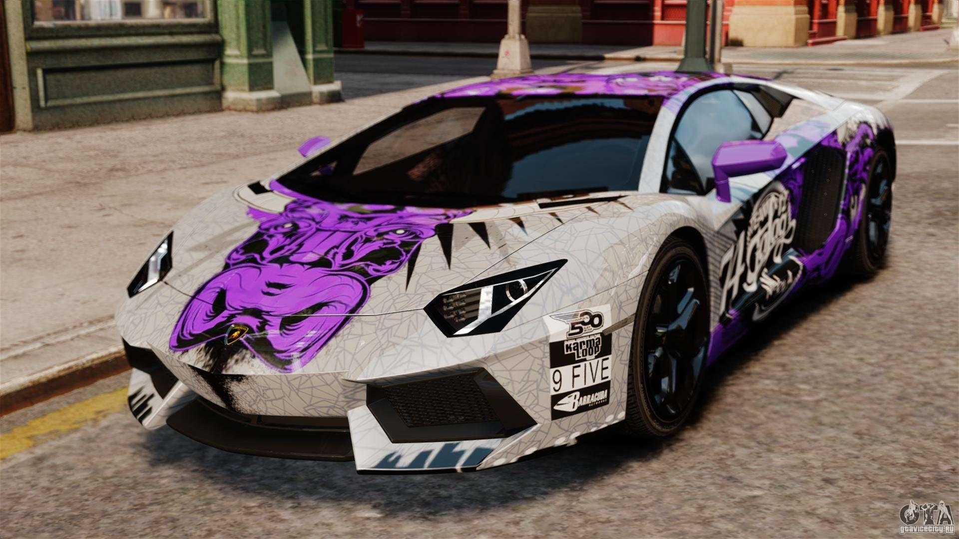 Gta 5 Cool Cars Wallpapers Lamborghini Aventador Lp700 4 2012 Galag Gumball For Gta 4
