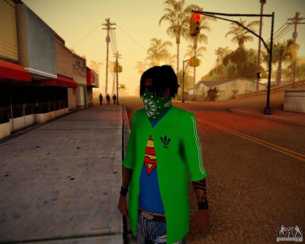 Crip Girl Wallpaper Skins Pack Gang Grove For Gta San Andreas