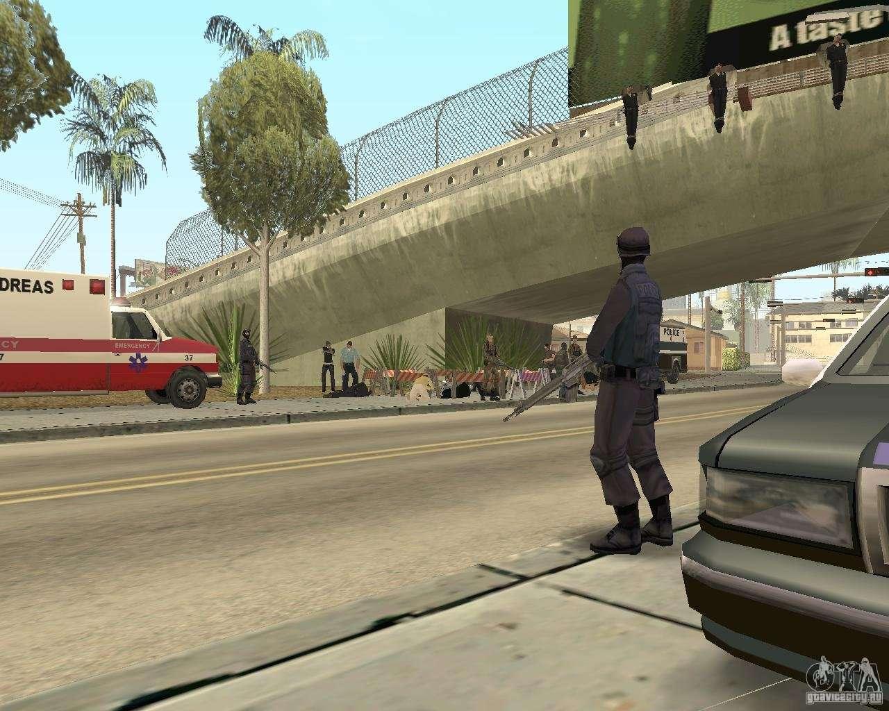 Scene of the crime Crime scene for GTA San Andreas