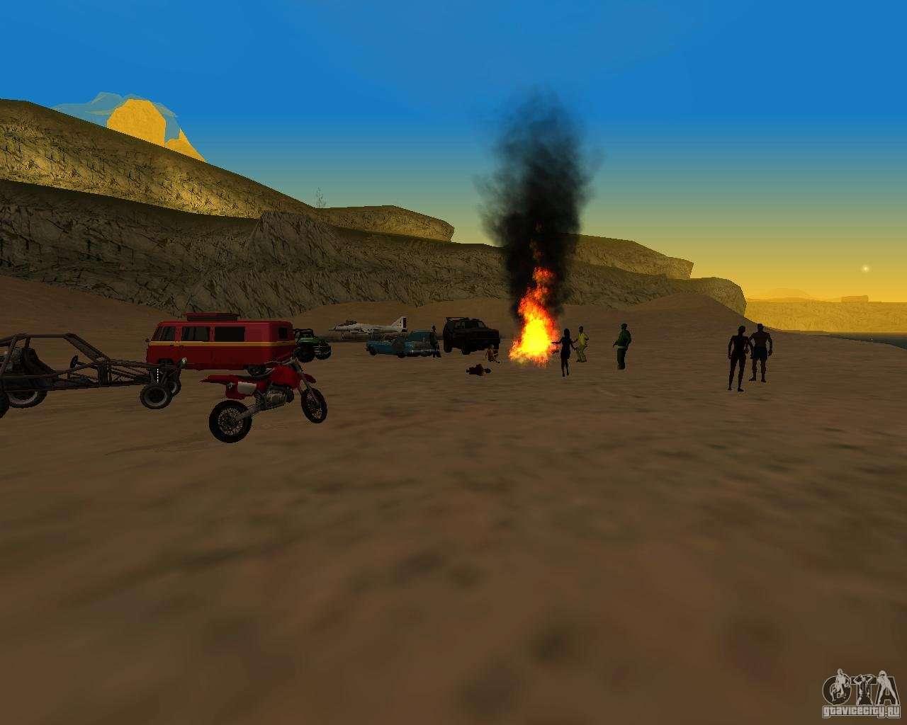 Beach Veirinka For GTA San Andreas