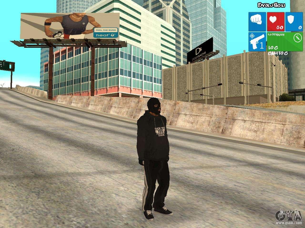 Bad guy for GTA San Andreas