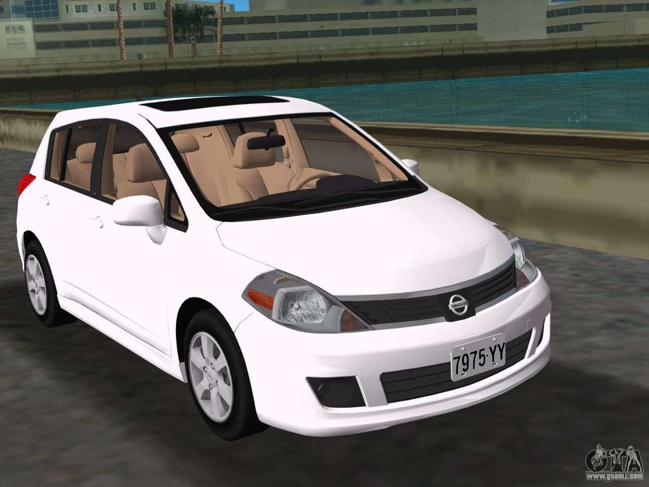 Nissan Tiida For Gta Vice City