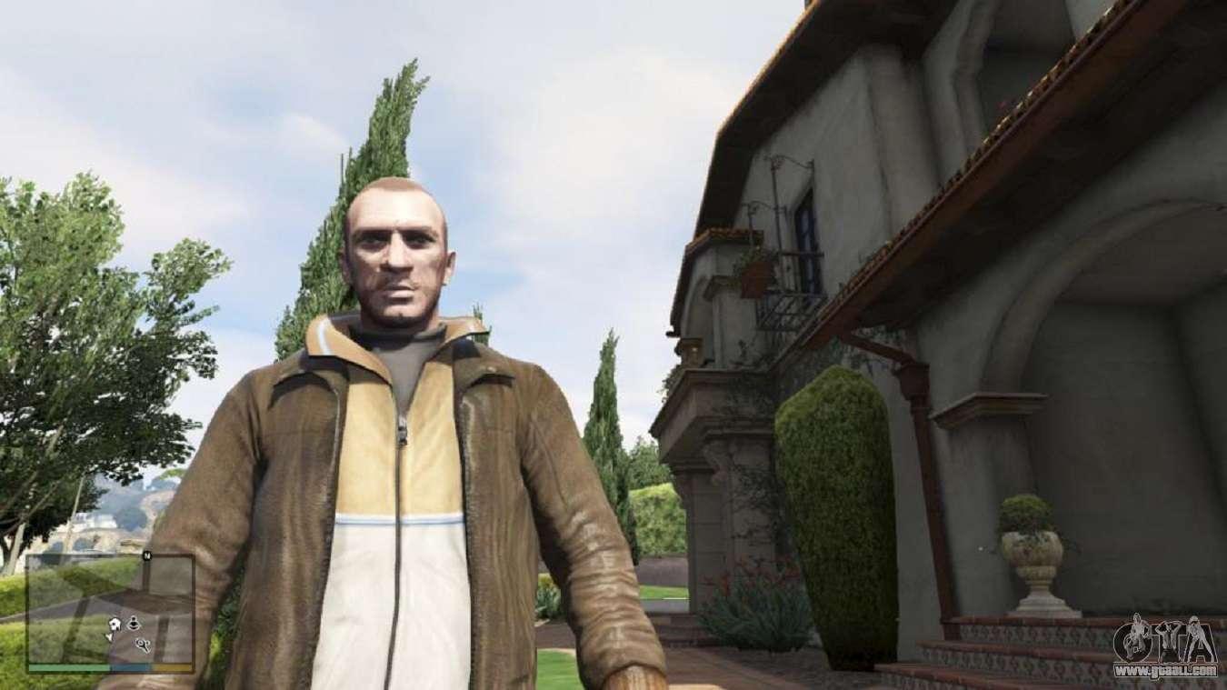 Niko Bellik For GTA 5