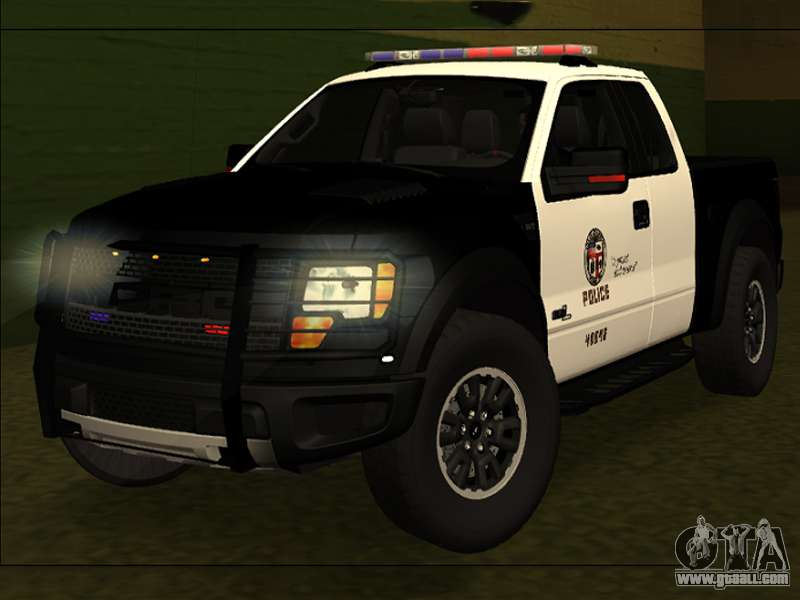 LAPD Ford F 150 Raptor For GTA San Andreas
