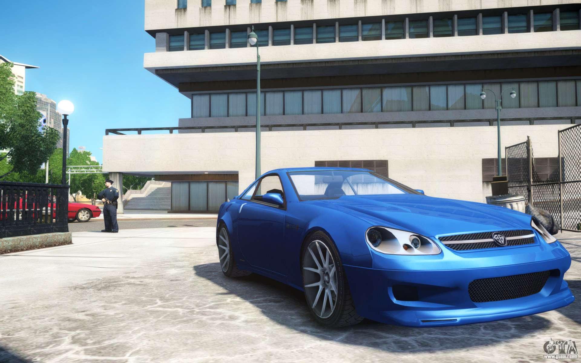 Benefactor Feltzer Grey Series V3 For GTA 4