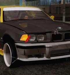 bmw e36 drift [ 1364 x 768 Pixel ]