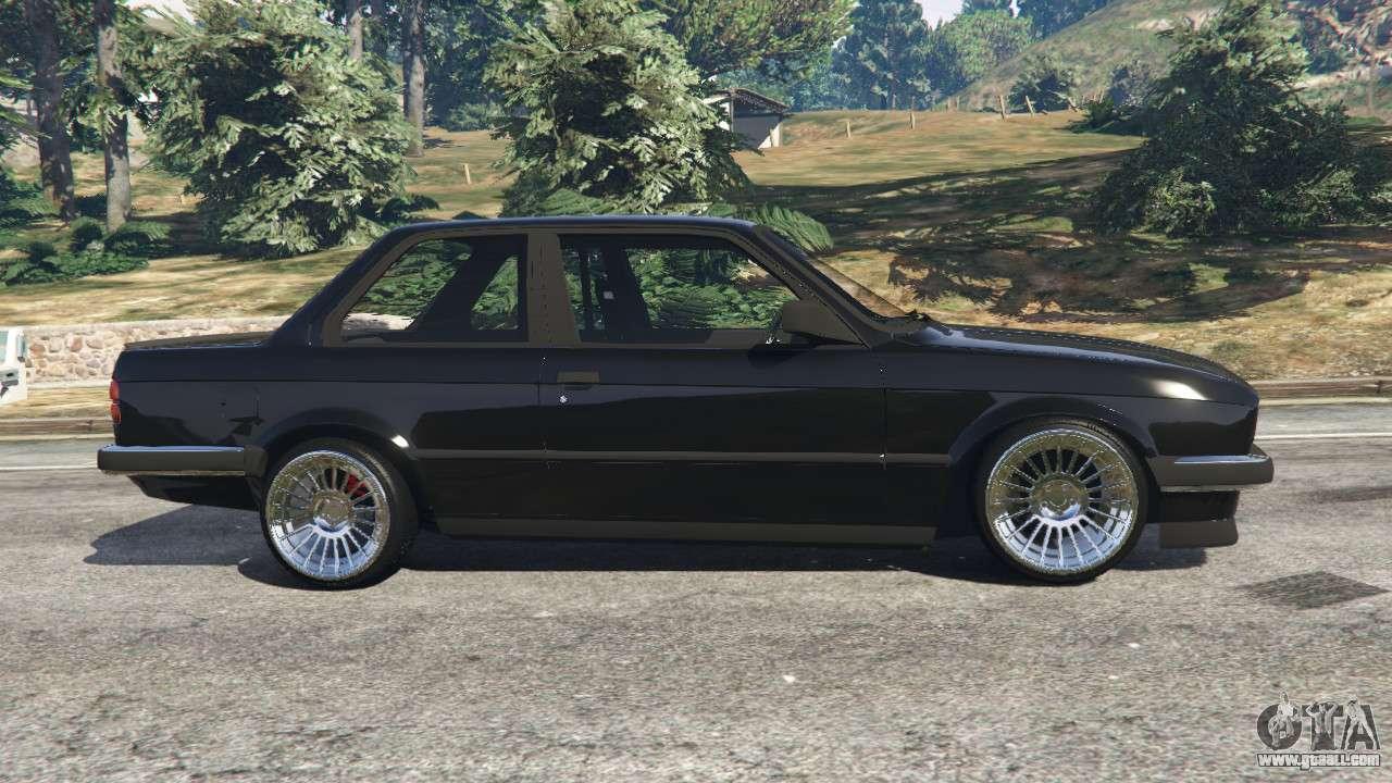 BMW E30 1983 M-Tech 1 [Beta] for GTA 5