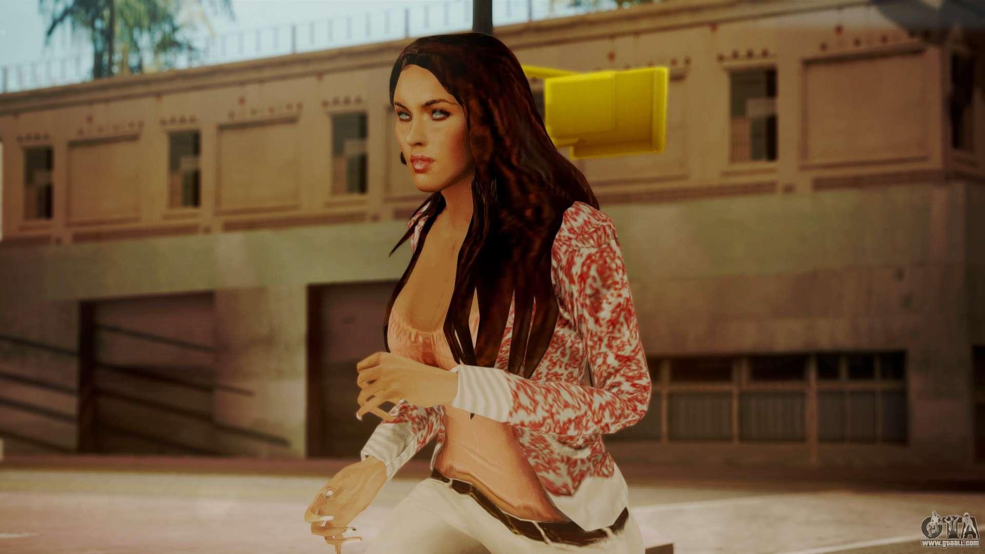 Hd Wallpaper Zip Pack Free Download Megan Fox For Gta San Andreas