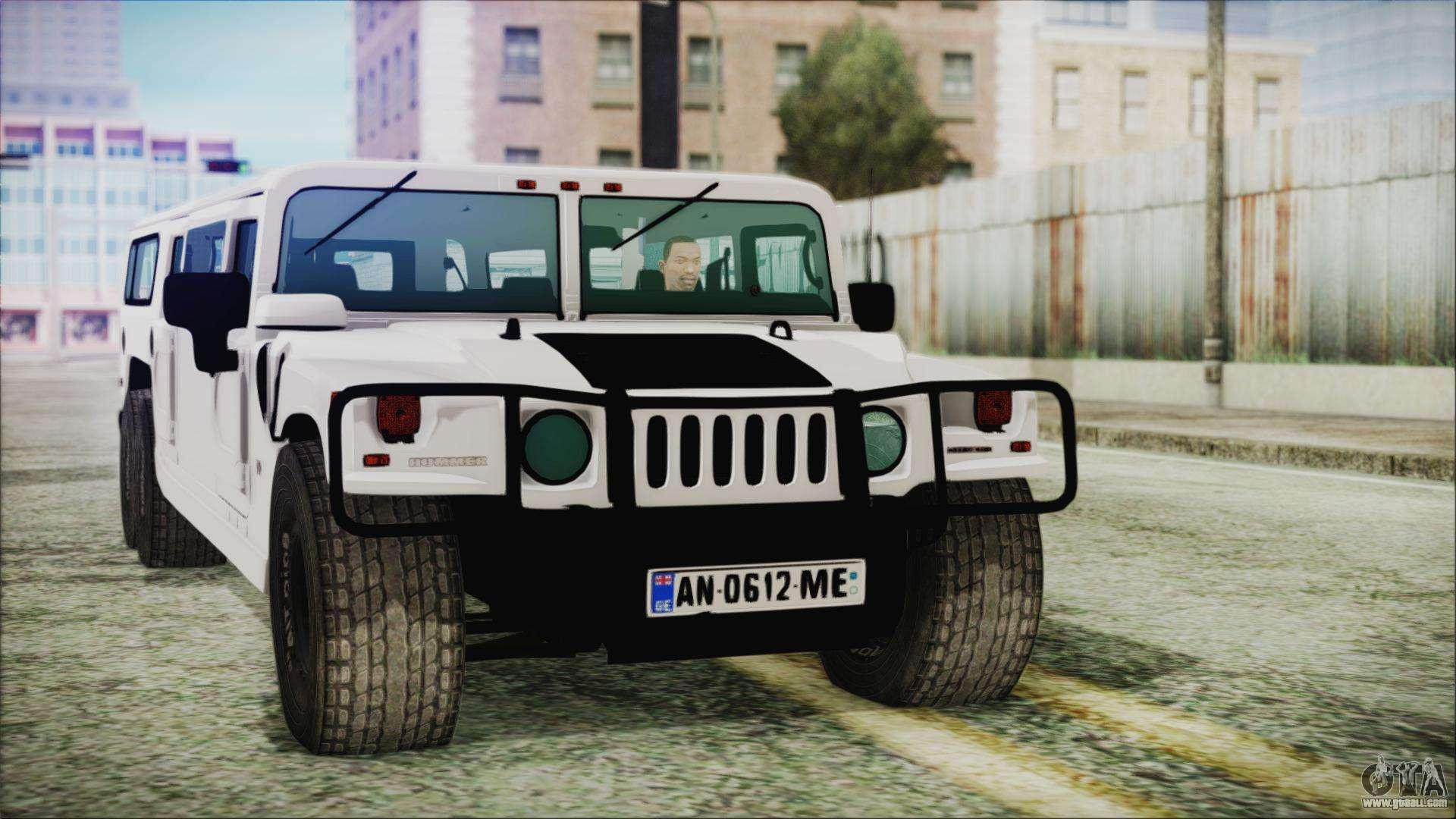 Hummer H1 Limo 6x6 for GTA San Andreas