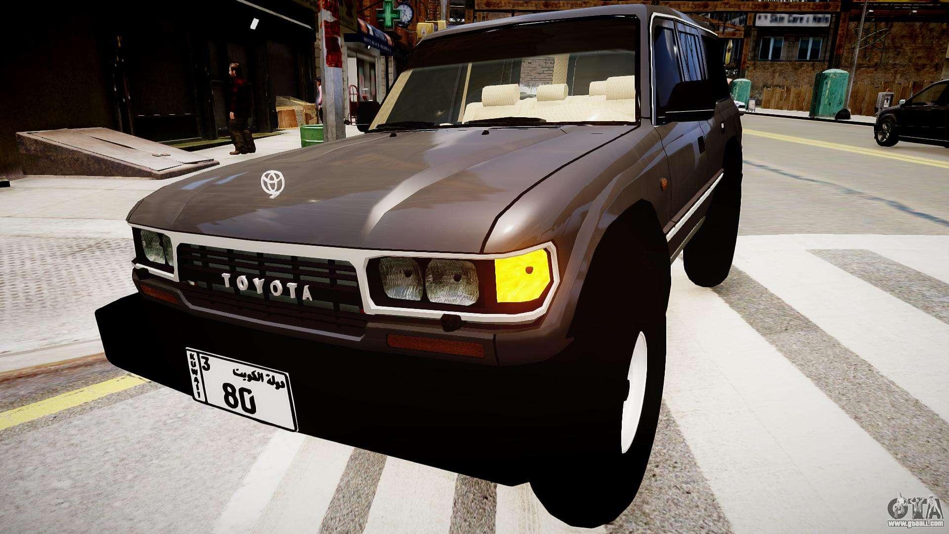 Toyota Land Cruiser GX 1997 for GTA 4