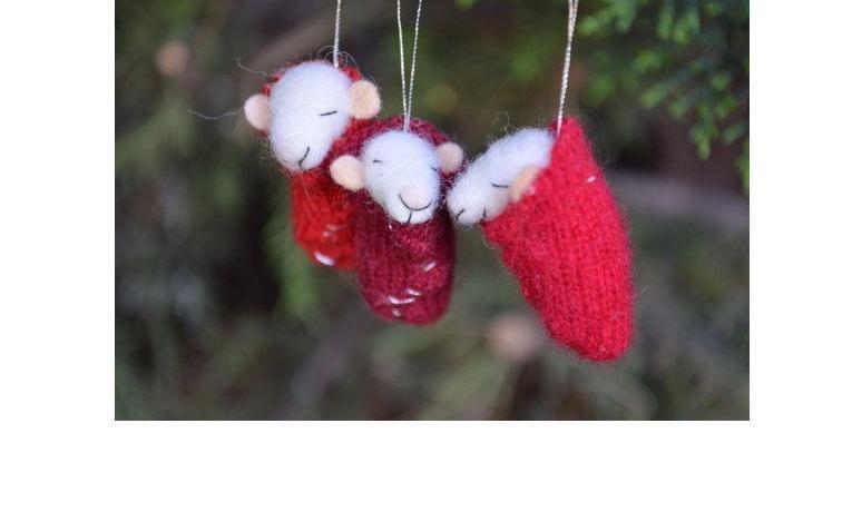 Рождестволық шыршаны жақсы безендіріңіз! Рождестволық ойыншықтардың 50 идеялары оны өзіңіз жасайды, сурет № 4
