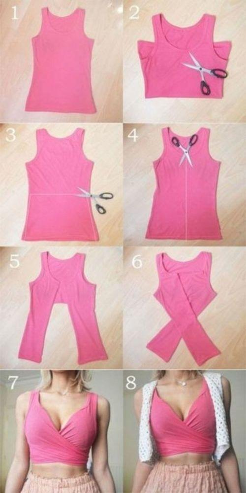 Превращения вещей идеи для переделки одежды. Часть 1, фото № 45