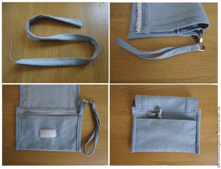 сумочка джинсовая