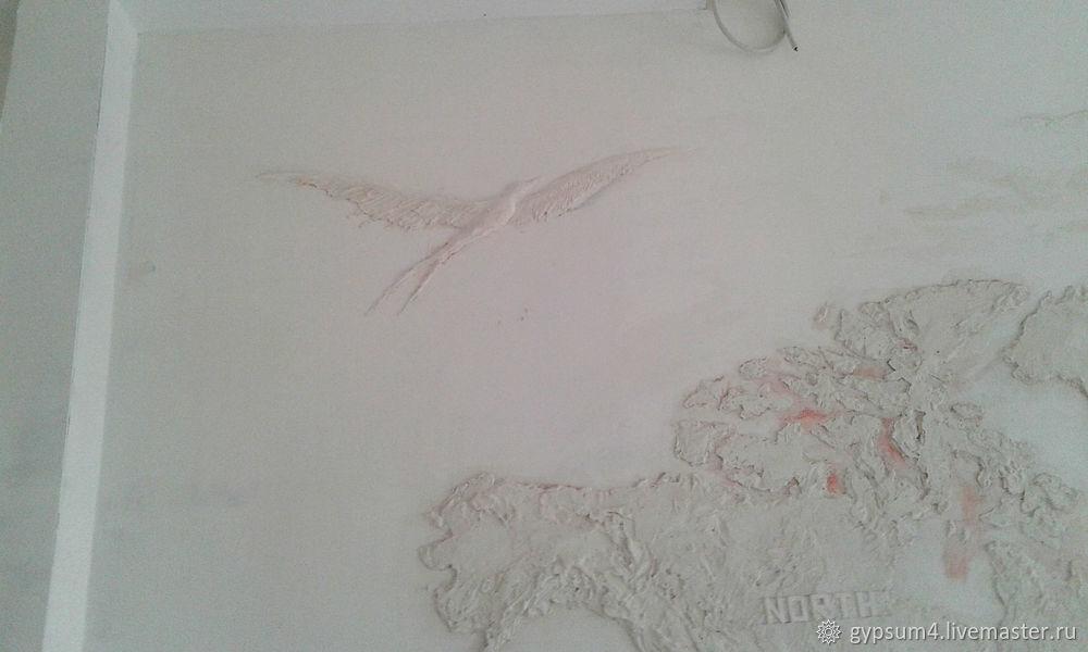 Изготавливаем барельеф «Карта», фото № 32