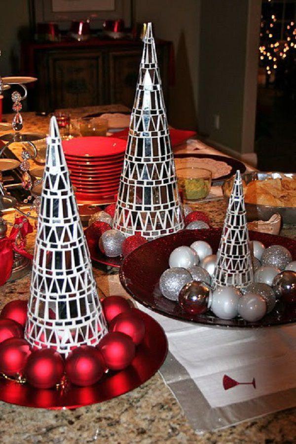 Δημιουργήστε μια διάθεση μιας Πρωτοχρονιάς: 50 ιδέες για την εορταστική διακόσμηση, φωτογραφία № 27