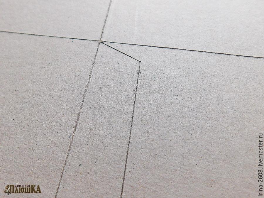 Коробка любого размера с «нуля» своими руками. Быстро, просто, бюджетно, фото № 5