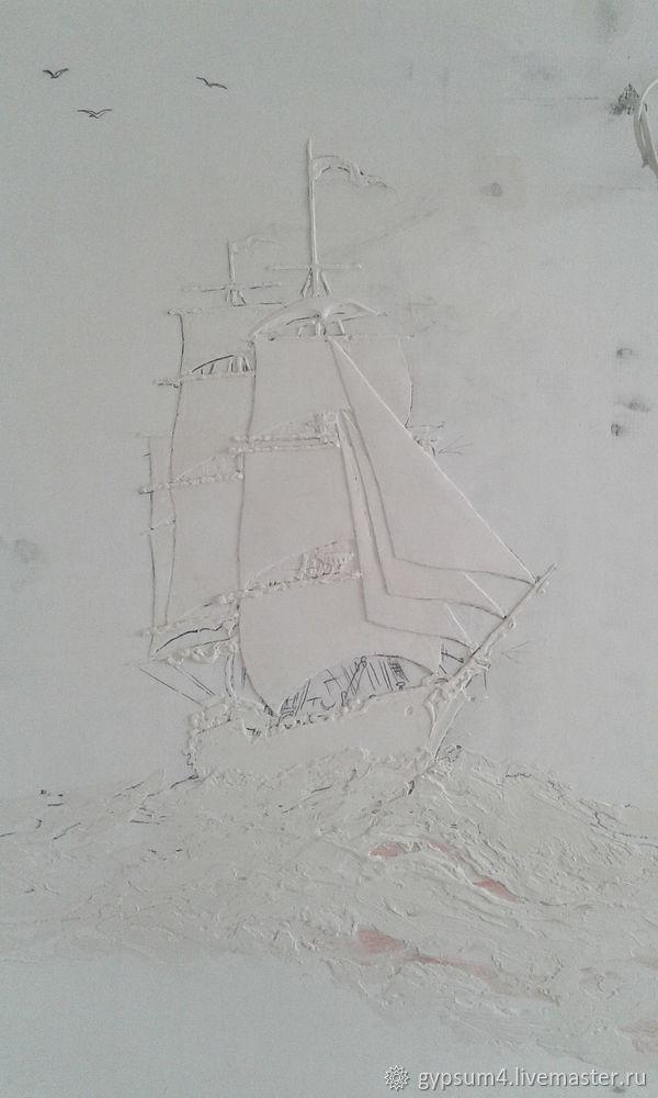 Изготавливаем барельеф «Карта», фото № 9