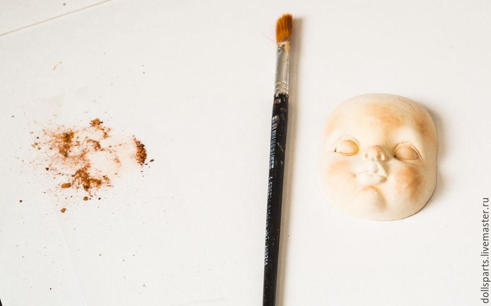 Clase magistral pintando la cara de una muñeca, foto No. 4