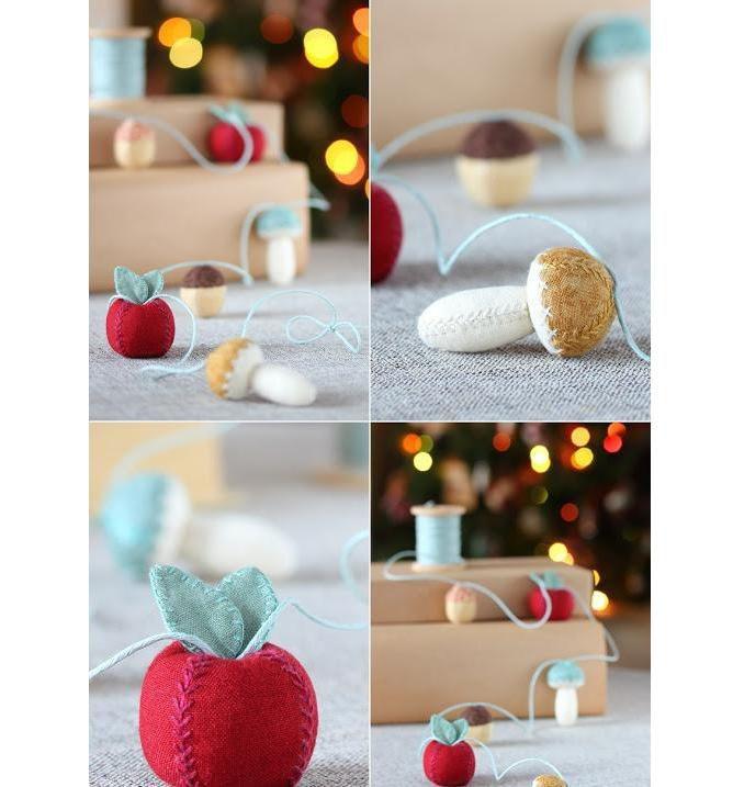 Украсим ёлку интересно! 50 идей ёлочных игрушек своими руками, фото № 36