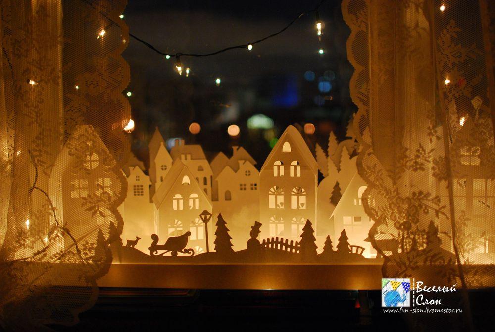 Vytvořit magické město z papíru, fotografie № 46